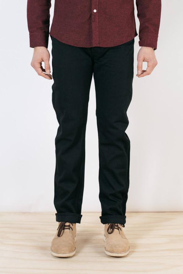 Men's Shuttlenotes Five Truckers Pants Black Denim