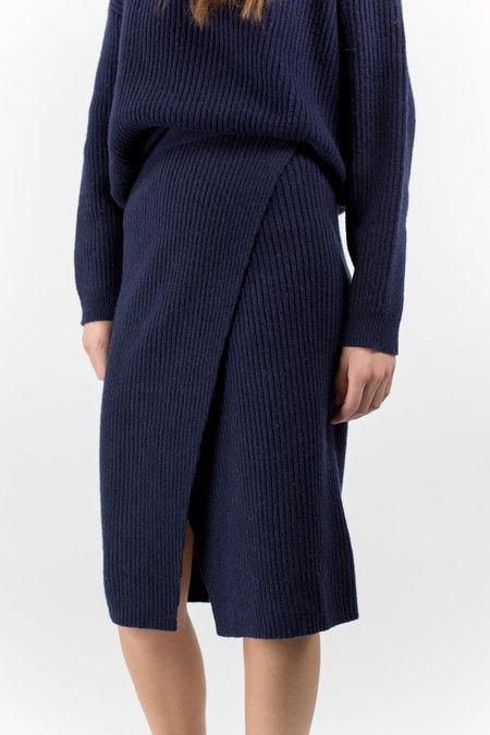 Just Female Corn Skirt - Stone Blue