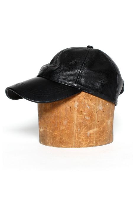 Assembly New York Leather Baseball Cap