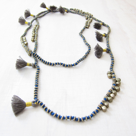 Bluma Project Farah necklace - blue