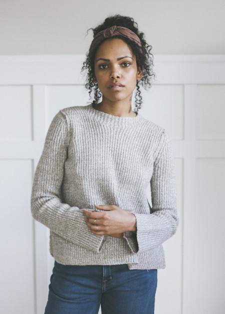 Line Knitwear Mirabel in Timber