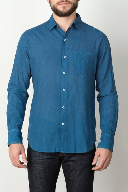 Men's Industry of All Nations Clean Madras Shirt Long Sleeve