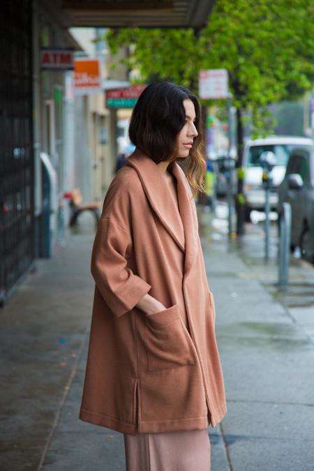 Ali Golden Kimono Coat