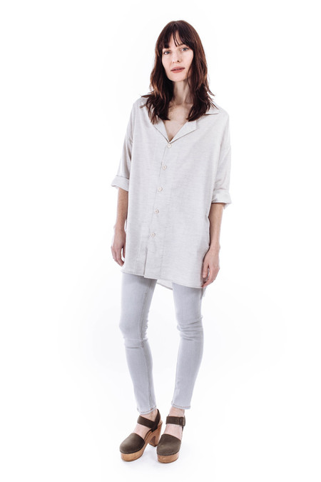 Hackwith Design House Button-Up Smock