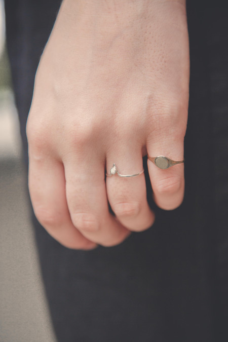 Drift/Riot Precious Things Signet Ring