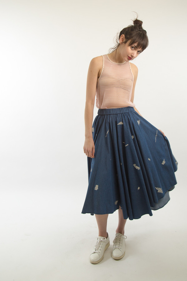 Starstyling Shreddy Long Skirt