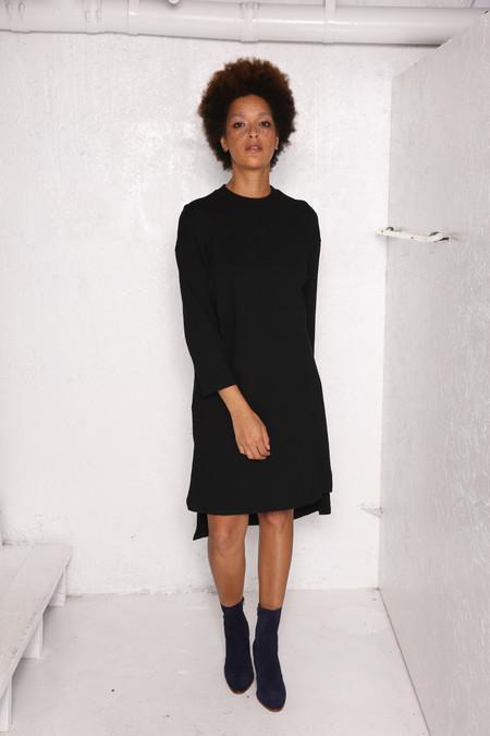 Intentionally Blank MILLET DRESS Black