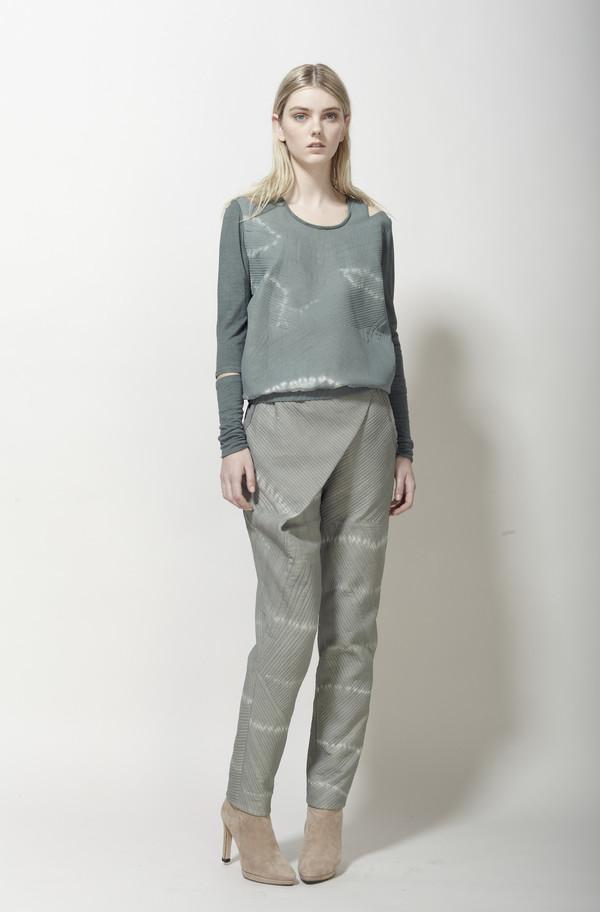 Laura Siegel Silk Quilted Shirt