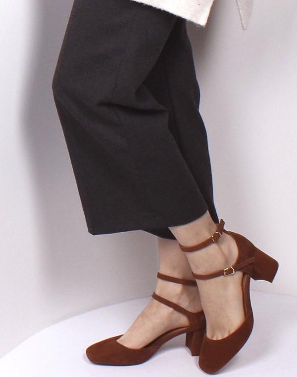 L'Intervalle Reikan Suede Shoes - Tan