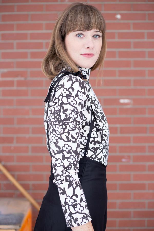 Samantha Pleet Coven Bodysuit - Mandrake