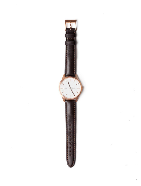 Uniform Wares C40 Calendar Watch PVD Rose Gold