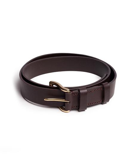 Mismo Classic Belt Brown Brass