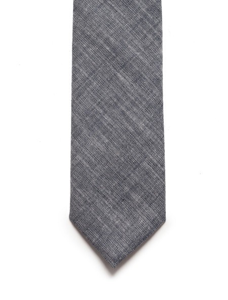 Neighbour Cotton Tie Navy Chambray