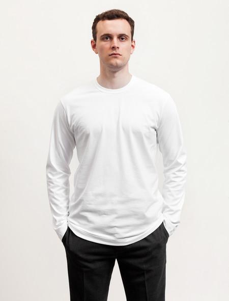 Comme des Garcons T-Shirt LS White