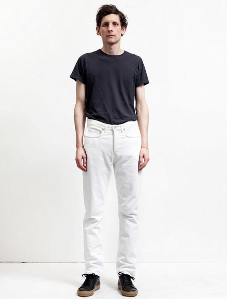 Acne Studios Men's Van Jeans White Vintage