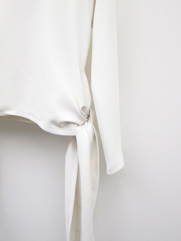 Gauntlett Cheng Baby Skin Wrap Top