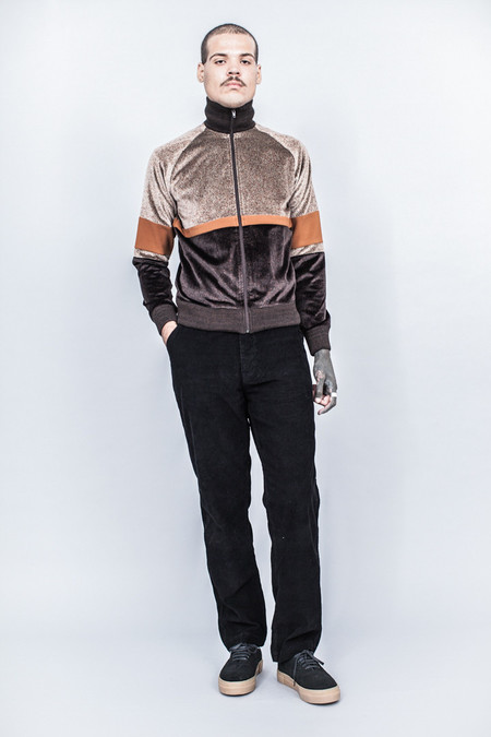 CMMN SWDN Iggy Track Jacket Tricolor