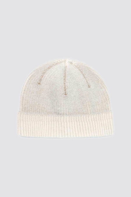 Our Legacy Knitted Hat Nicotine Heavy Wool