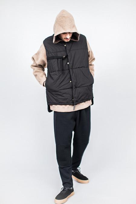Robert Geller Garment Dyed Vest Black