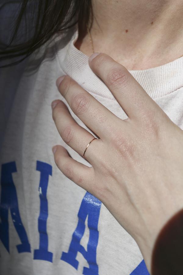 Grace Lee 14K Rose Gold Whisper Ring