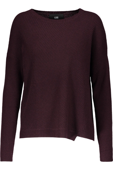 LINE SPENCER SWEATER IN PORT