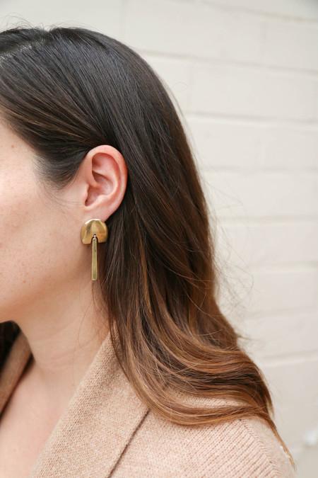 Kiki Koyote Dome Earrings