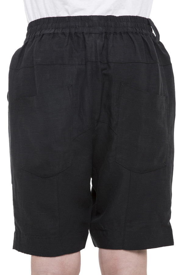 Men's Chapter Crate Linen Short I Black
