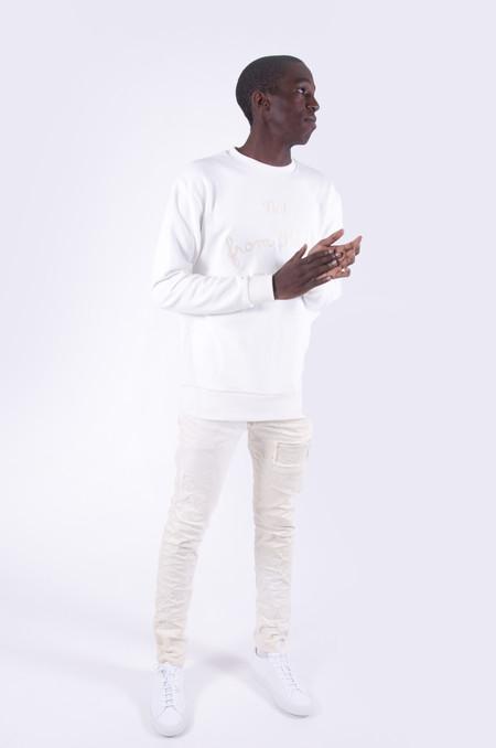 Drôle de Monsieur NFPM Sweatshirt White