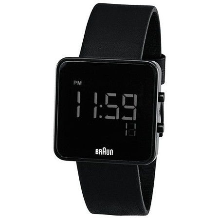 BRAUN DIGITAL WATCH / BLACK