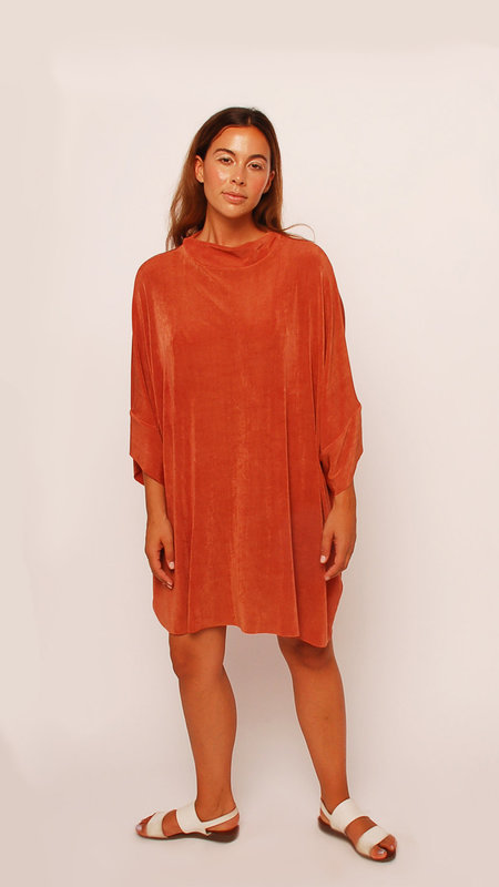 323 Slinky Mock Neck Dress