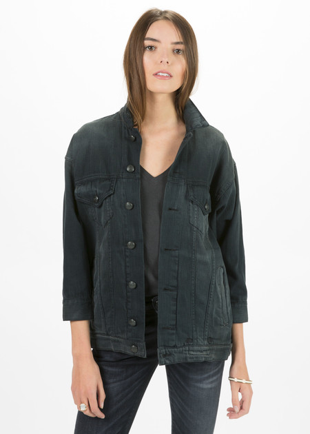 R13 Women's Oversized Trucker Jacket
