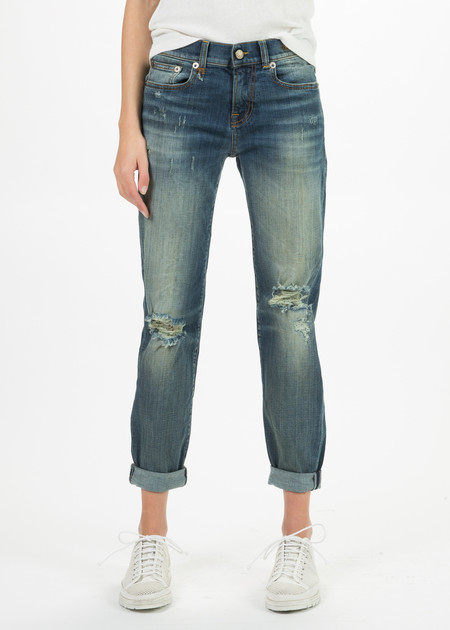 R13 Women's Relaxed Skinny Jean