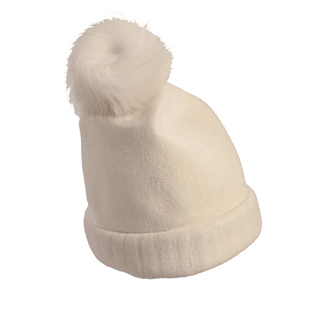 Yestadt Millinery BUNNIE BEANIE WHITE