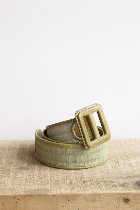 Eatable of Many Orders Tatami Belt in Green