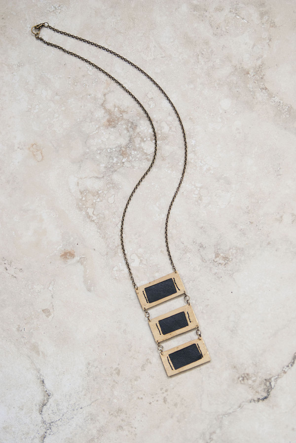 Geography 541 Palmyra Necklace
