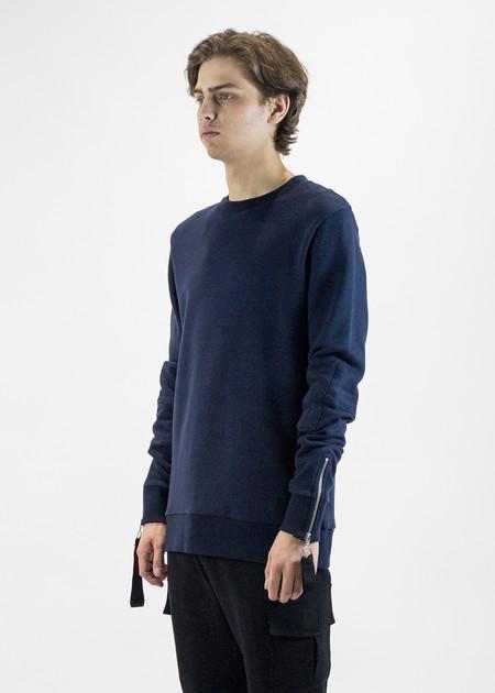 Matthew Miller Rogue Flight Sweater with Zip Cuffs