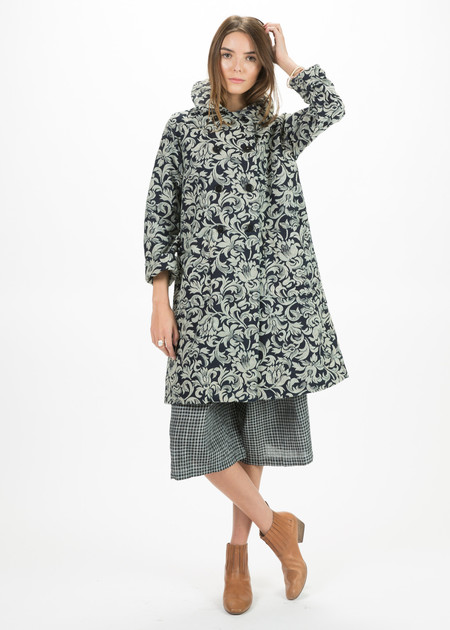 Dosa Brocade Sanyo Coat