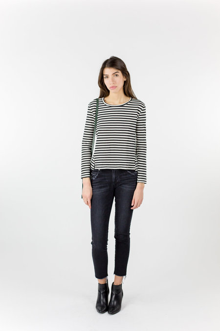 AMO Twist L/S Tee - Seaton Stripe