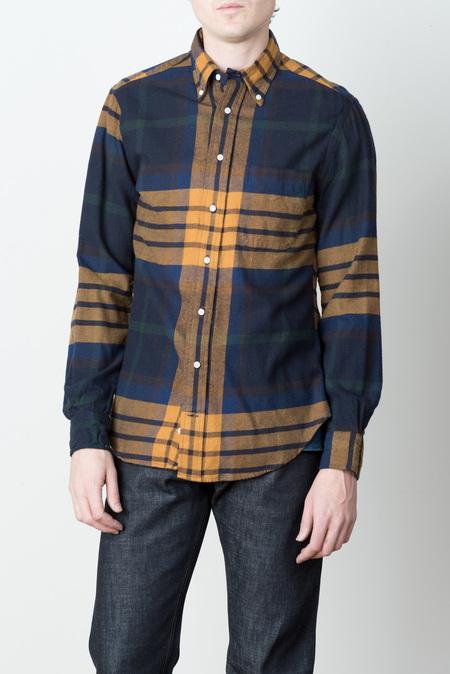 Men's Gitman Vintage Big Blanket Check Shirt
