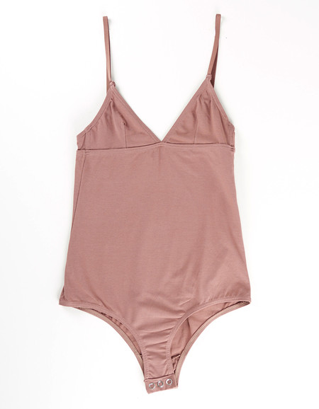 Nude Label Basic Bodysuit Taupe
