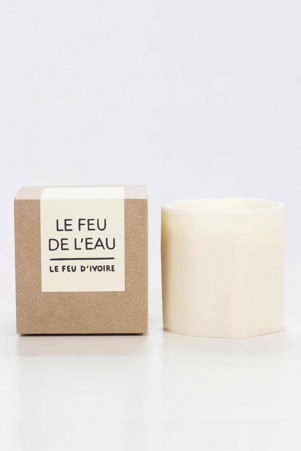 Le Feu De L'Eau Le feu candle in ivoire