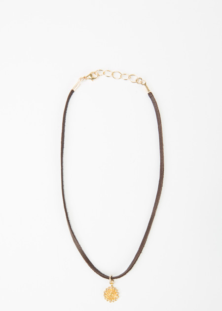 Jewels by Piper Diamond Sun Choker Necklace