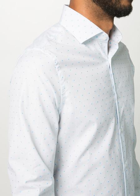 Men's Shockoe Atelier Chevron Spread Collar Shirt