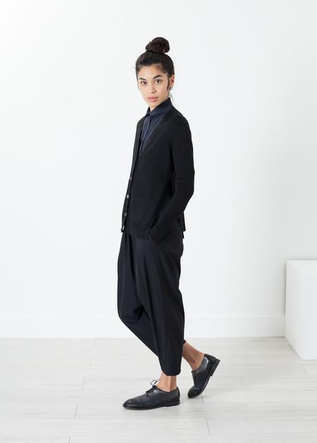 Sibel Saral Square Cardigan in Black