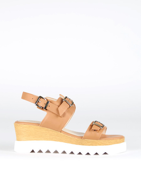 Sol Sana Gabrielle Wedge Tan