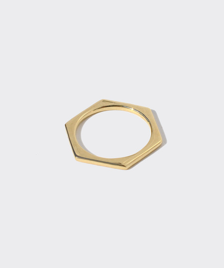Gabriela Artigas  Lust To Love Mini Hexagon Ring