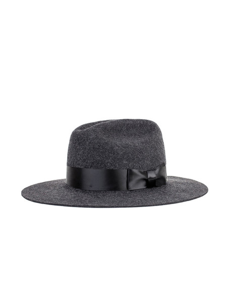Brixton Tara Fedora Heather Black