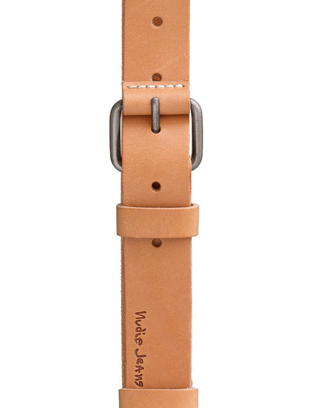 Nudie Wayne Leather Belt Natural