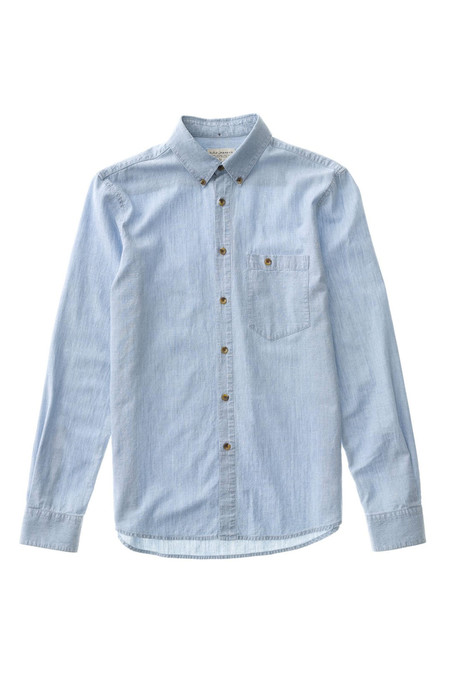Nudie Jeans Stanley - Light Chambray