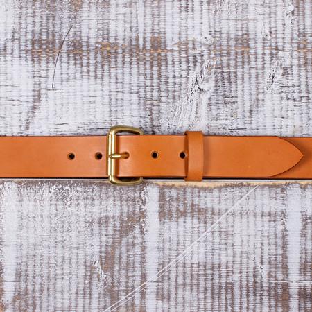 Tanner Goods Standard Belt - Saddle Tan